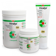 Viralys with L-lysine for cats: review.